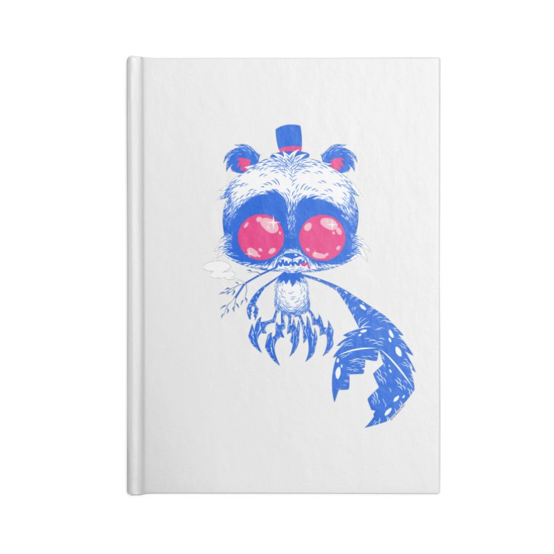 Crabby Smokey Bear Accessories Notebook by SQETCHBOOK