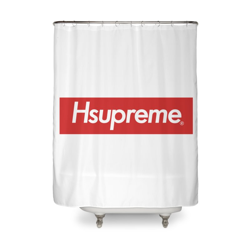 HSUPREME Home Shower Curtain by SQETCHBOOK
