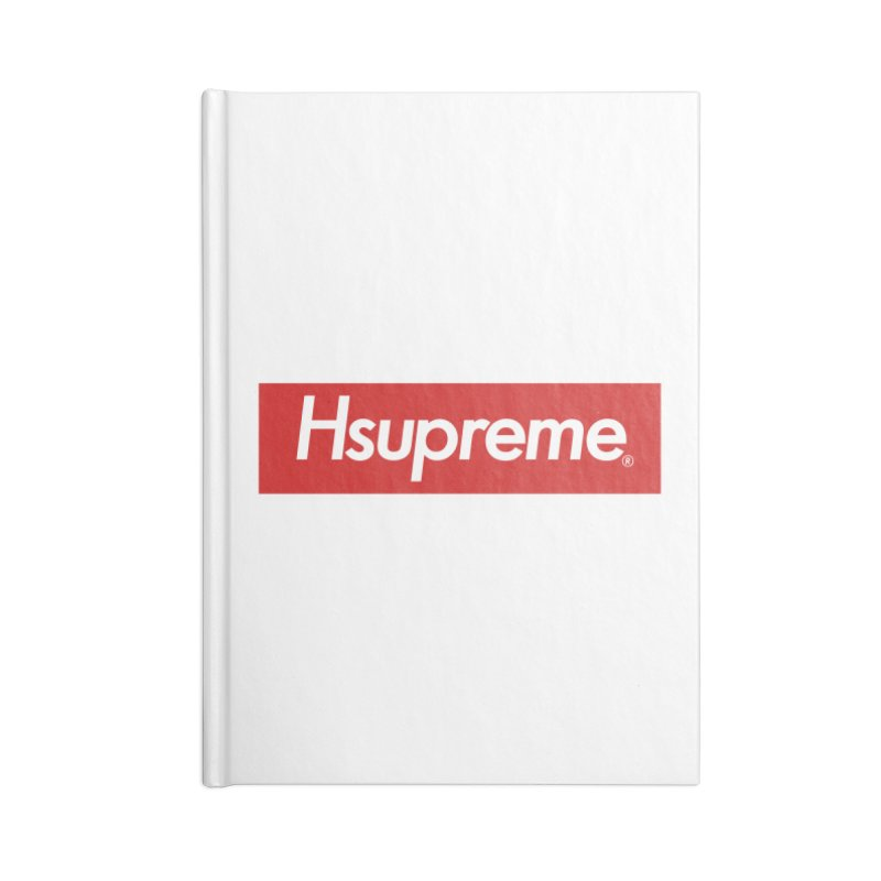 HSUPREME Accessories Notebook by SQETCHBOOK