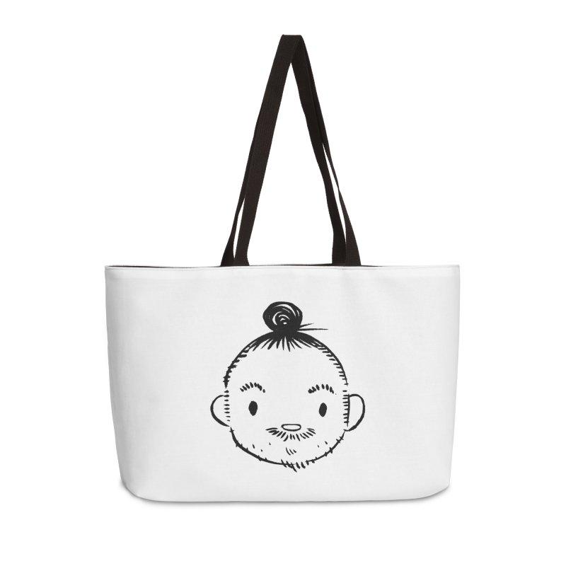 Bun Man Accessories Bag by SQETCHBOOK