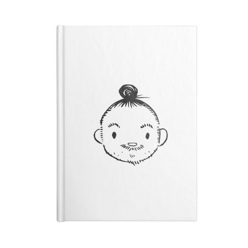 Bun Man Accessories Notebook by SQETCHBOOK