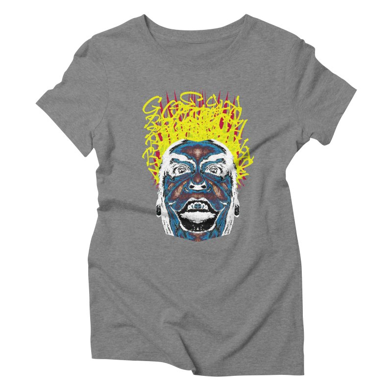 Payaso Women's Triblend T-Shirt by SUBTERRA's Shop
