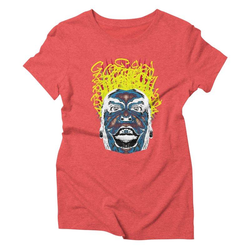 Payaso Women's Triblend T-Shirt by SUBTERRA's Shop