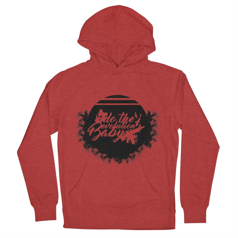 do the evolucion in Men's French Terry Pullover Hoody Heather Red by SUBTERRA's Shop