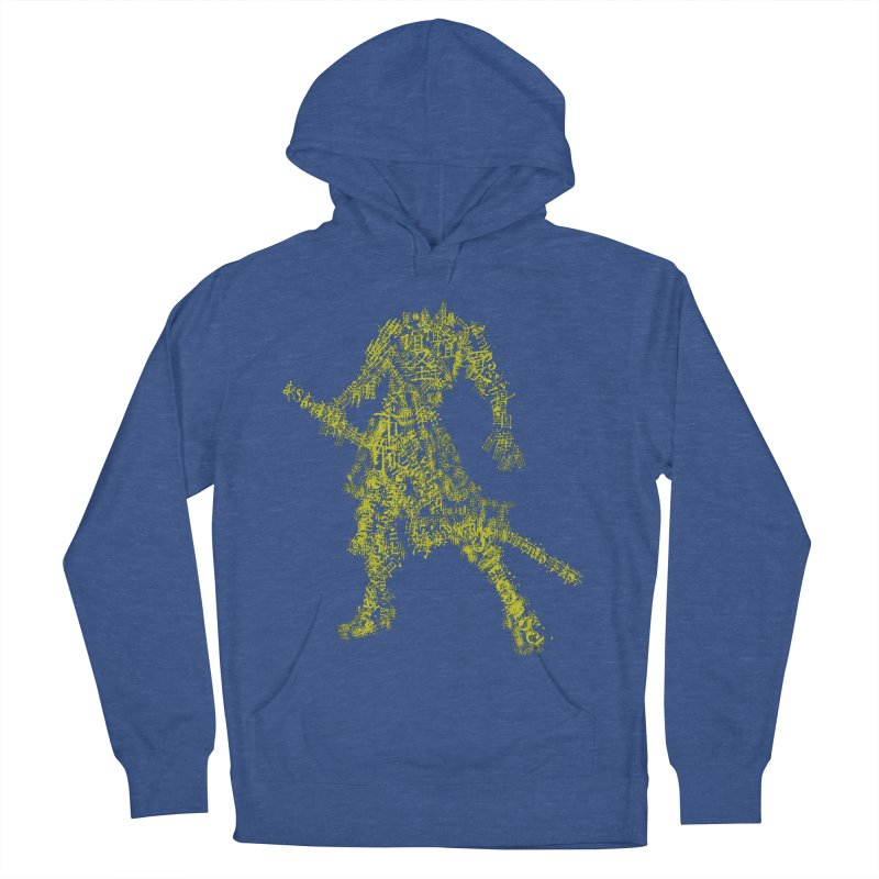 Words of a Warrior  Men's French Terry Pullover Hoody by SUBTERRA's Shop