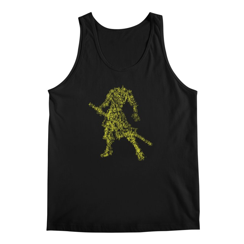 Words of a Warrior  Men's Regular Tank by SUBTERRA's Shop