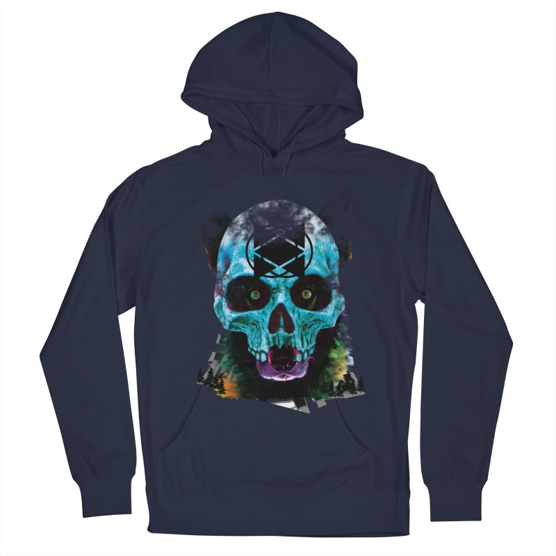 I see you in Men's French Terry Pullover Hoody Navy by SUBTERRA's Shop
