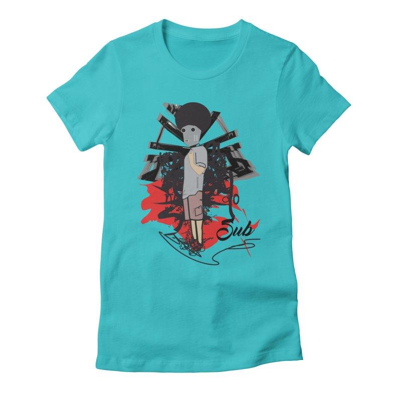 El chamo Women's Fitted T-Shirt by SUBTERRA's Shop