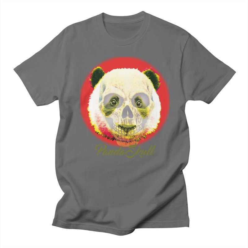 Panda skull Men's T-Shirt by SUBTERRA's Shop