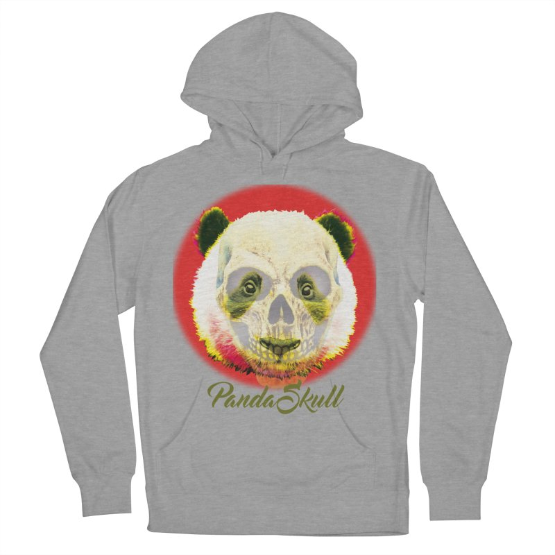 Panda skull Women's French Terry Pullover Hoody by SUBTERRA's Shop