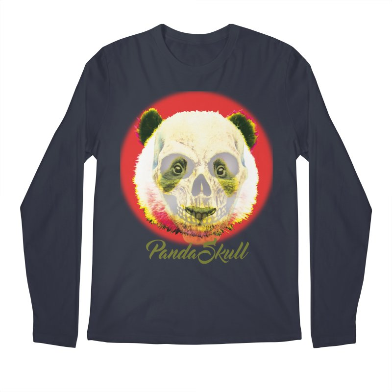 Panda skull Men's Longsleeve T-Shirt by SUBTERRA's Shop