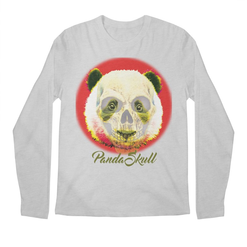 Panda skull Men's Regular Longsleeve T-Shirt by SUBTERRA's Shop