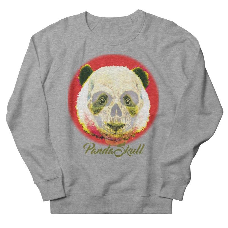 Panda skull Men's French Terry Sweatshirt by SUBTERRA's Shop