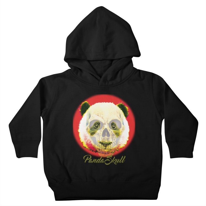 Panda skull Kids Toddler Pullover Hoody by SUBTERRA's Shop