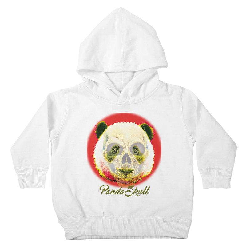 Panda skull Kids Toddler Pullover Hoody by SUBTERRA's Shop
