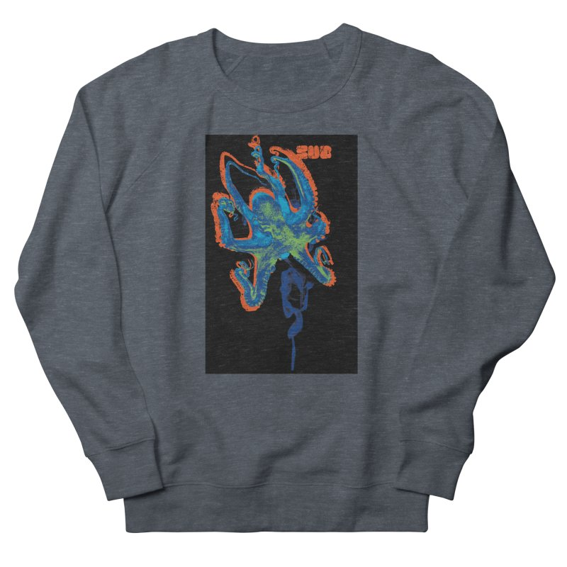 octupus Men's Sweatshirt by SUBTERRA's Shop