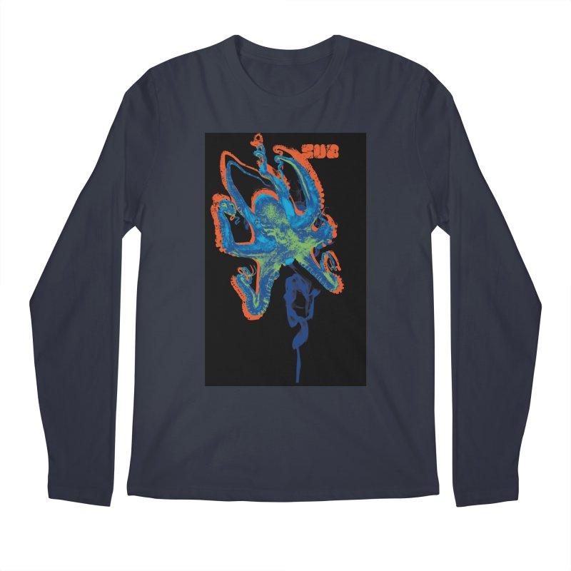 octupus Men's Regular Longsleeve T-Shirt by SUBTERRA's Shop