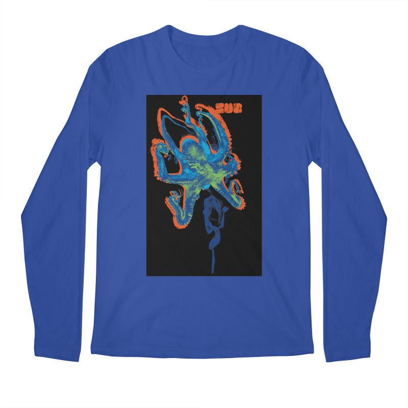 octupus Men's Longsleeve T-Shirt by SUBTERRA's Shop