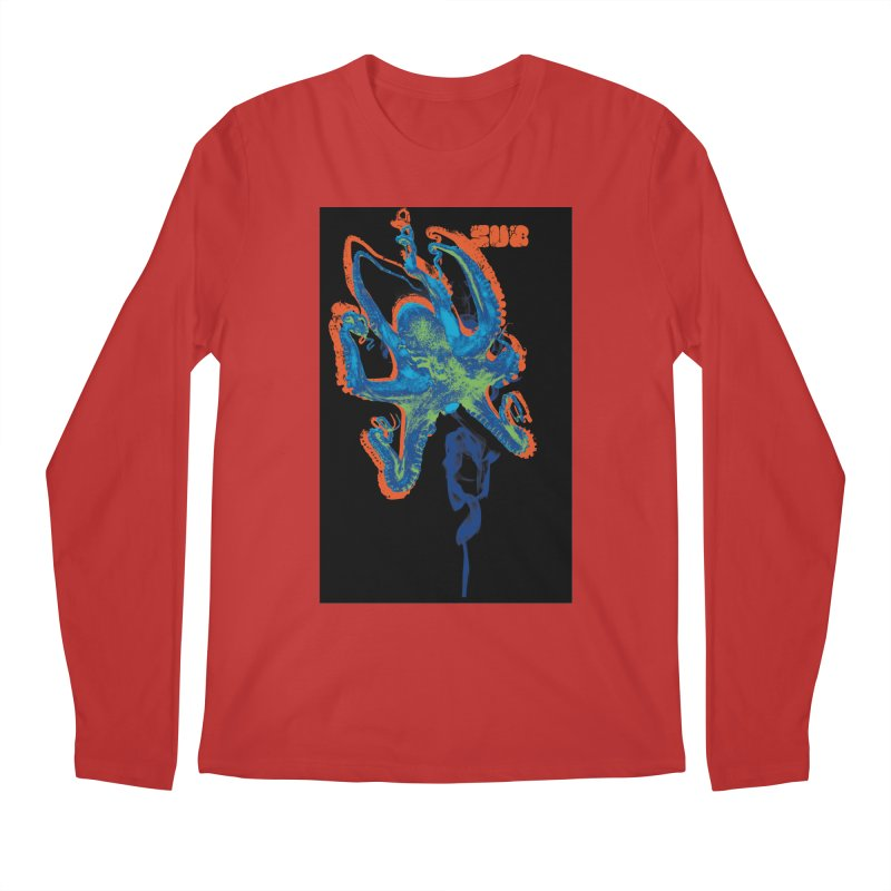 octupus Men's Regular Longsleeve T-Shirt by SUBTERRA's Shop