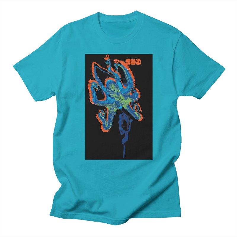octupus Men's Regular T-Shirt by SUBTERRA's Shop