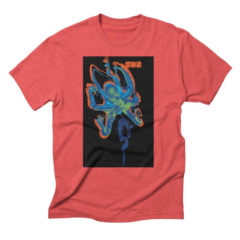 octupus Men's Triblend T-Shirt by SUBTERRA's Shop
