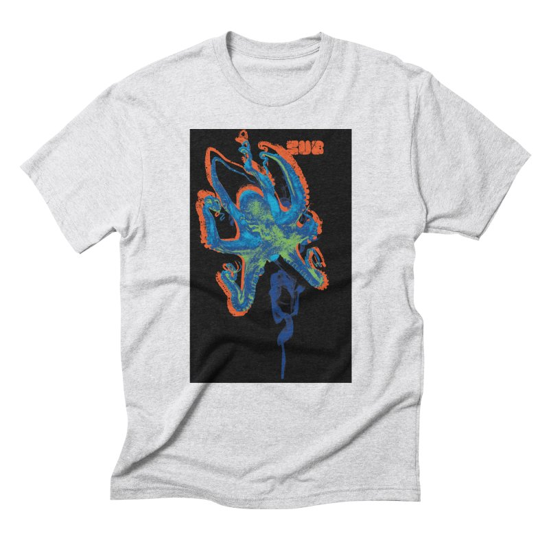 octupus Men's Triblend T-Shirt by SUBTERRA's Shop