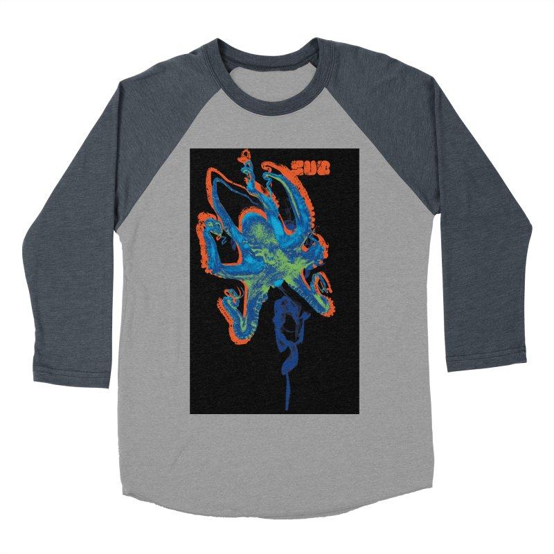 octupus Men's Baseball Triblend Longsleeve T-Shirt by SUBTERRA's Shop