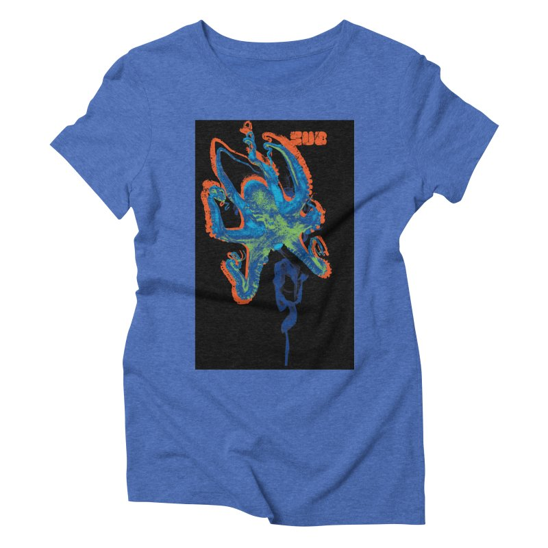 octupus Women's Triblend T-Shirt by SUBTERRA's Shop