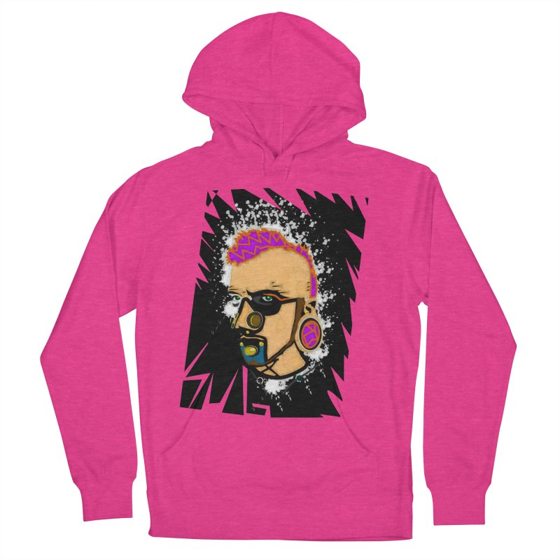 Sub punk Women's French Terry Pullover Hoody by SUBTERRA's Shop
