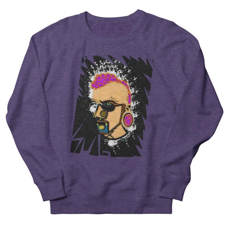 Sub punk Women's French Terry Sweatshirt by SUBTERRA's Shop