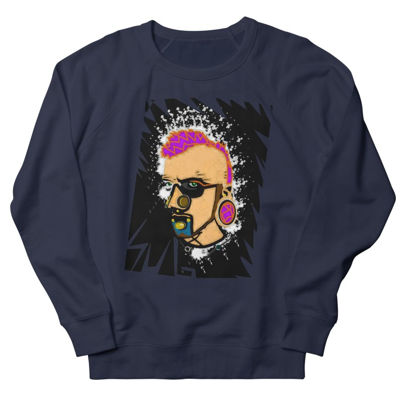 Sub punk Men's French Terry Sweatshirt by SUBTERRA's Shop