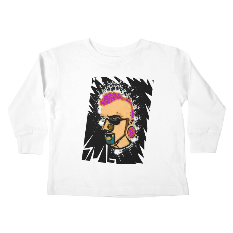 Sub punk Kids Toddler Longsleeve T-Shirt by SUBTERRA's Shop