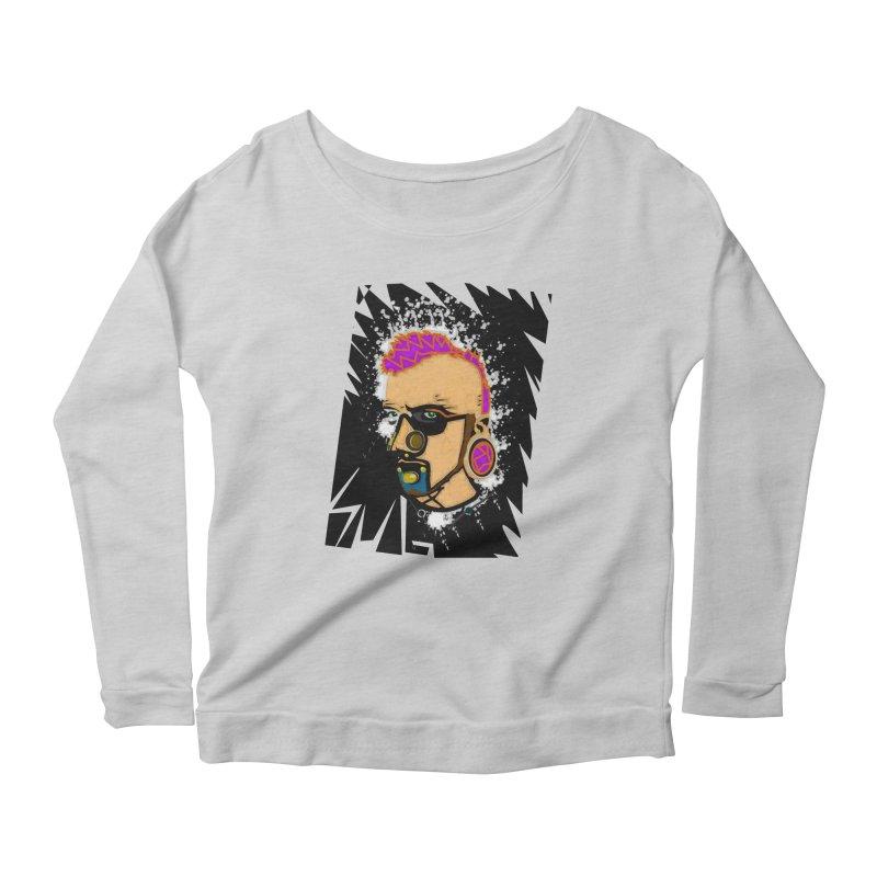 Sub punk Women's Longsleeve Scoopneck  by SUBTERRA's Shop