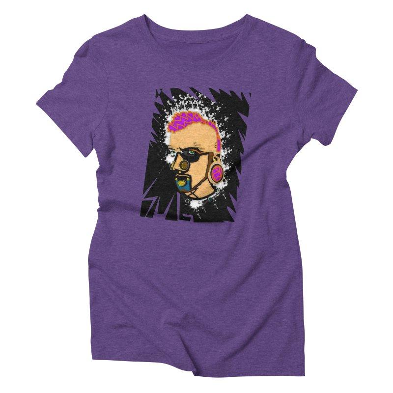 Sub punk Women's Triblend T-Shirt by SUBTERRA's Shop