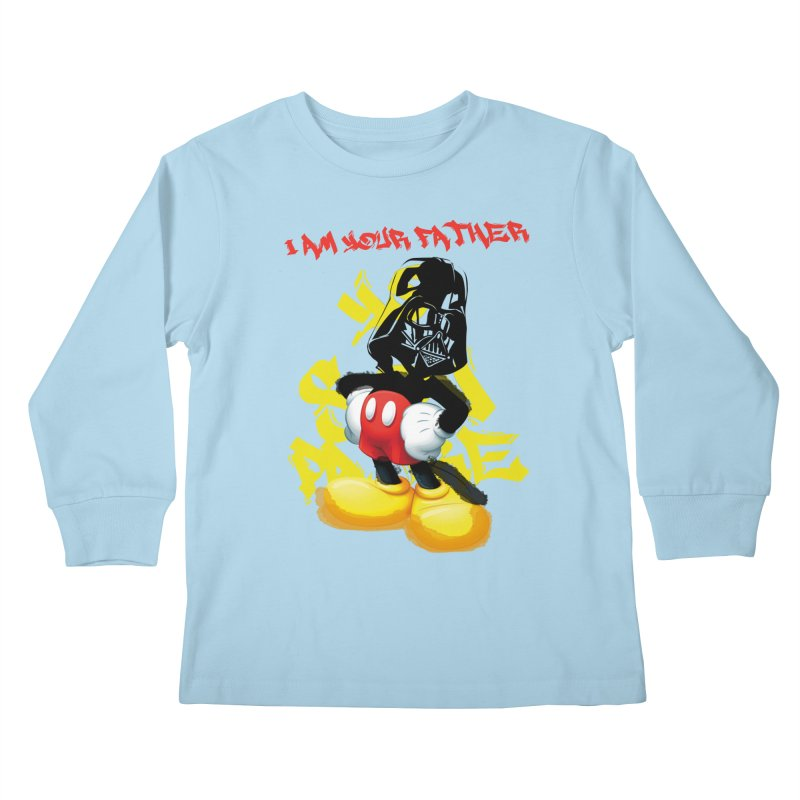 I am your father Kids Longsleeve T-Shirt by SUBTERRA's Shop