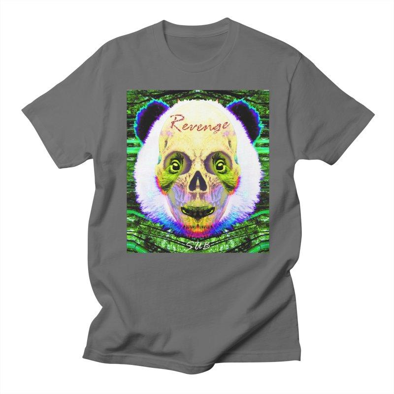 Panda Skull II Men's French Terry Zip-Up Hoody by SUBTERRA's Shop