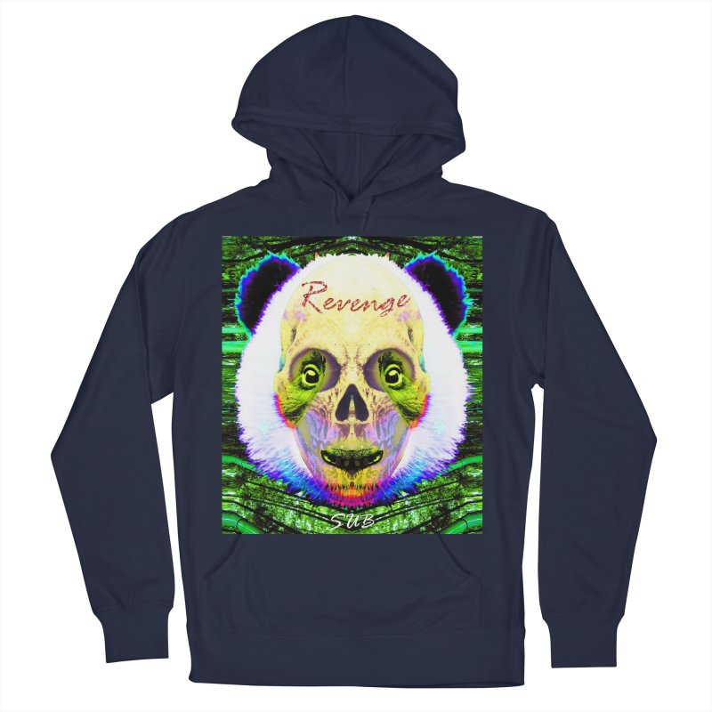 Panda Skull II Men's French Terry Pullover Hoody by SUBTERRA's Shop