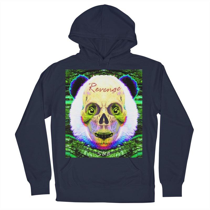 Panda Skull II Men's Pullover Hoody by SUBTERRA's Shop