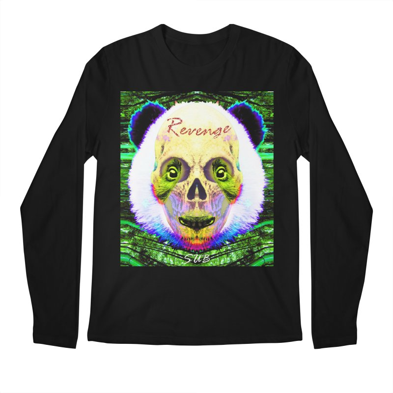 Panda Skull II Men's Longsleeve T-Shirt by SUBTERRA's Shop