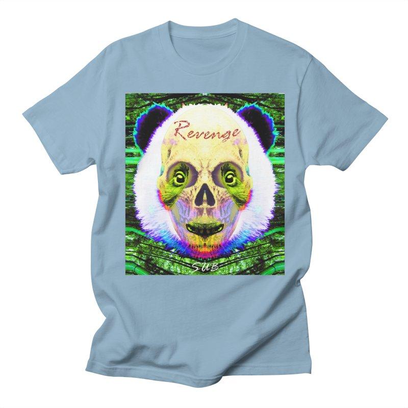 Panda Skull II Men's T-shirt by SUBTERRA's Shop