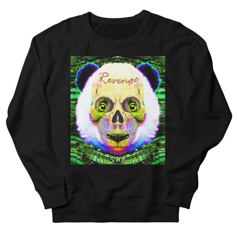 Panda Skull II Men's French Terry Sweatshirt by SUBTERRA's Shop