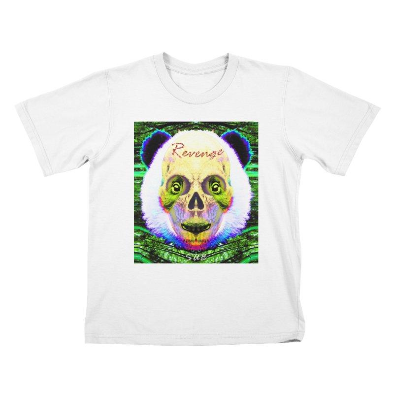 Panda Skull II Kids T-shirt by SUBTERRA's Shop