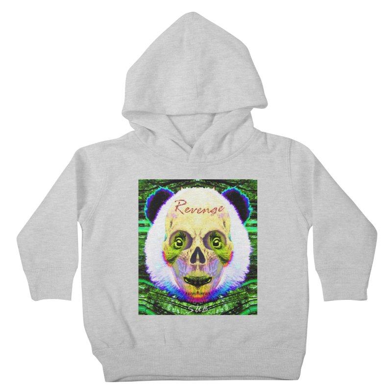 Panda Skull II Kids Toddler Pullover Hoody by SUBTERRA's Shop
