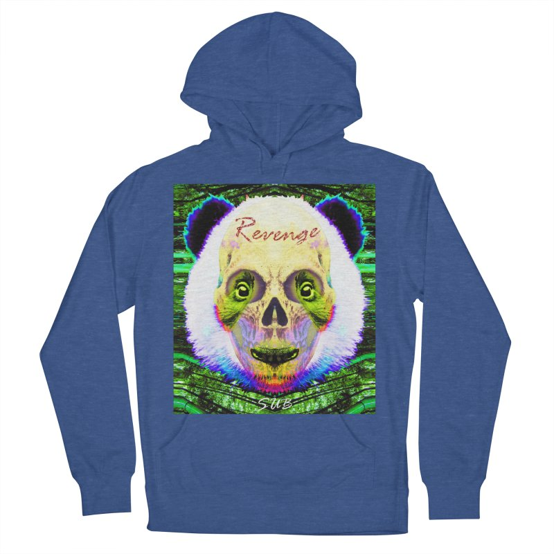 Panda Skull II Women's French Terry Pullover Hoody by SUBTERRA's Shop