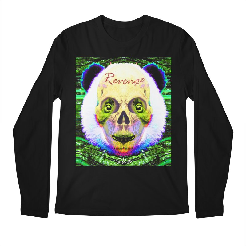 Panda Skull II Men's Regular Longsleeve T-Shirt by SUBTERRA's Shop