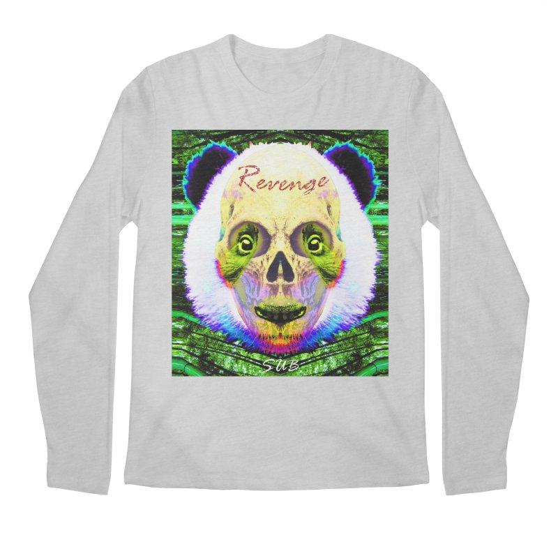 Panda Skull II Men's Regular Longsleeve T-Shirt by SUBTERRA's Shop