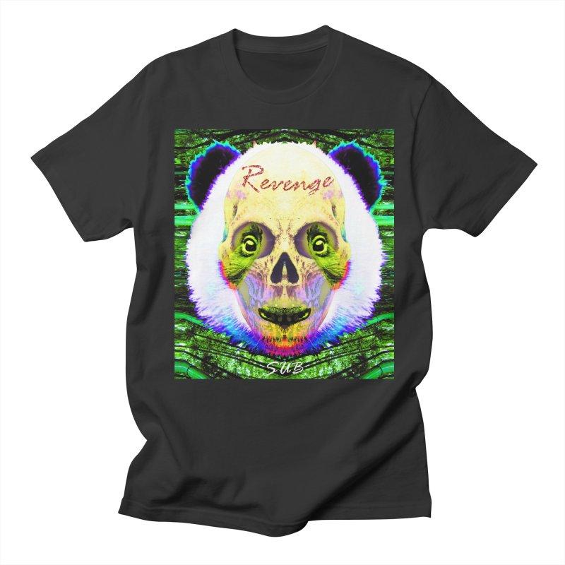 Panda Skull II Men's Regular T-Shirt by SUBTERRA's Shop