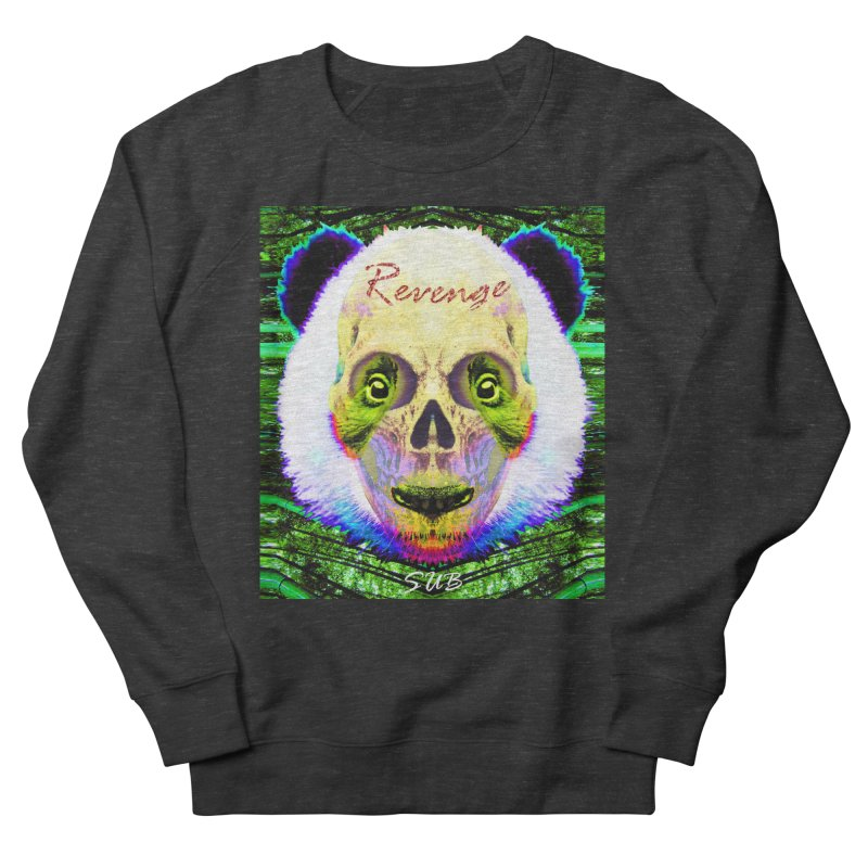 Panda Skull II Women's French Terry Sweatshirt by SUBTERRA's Shop