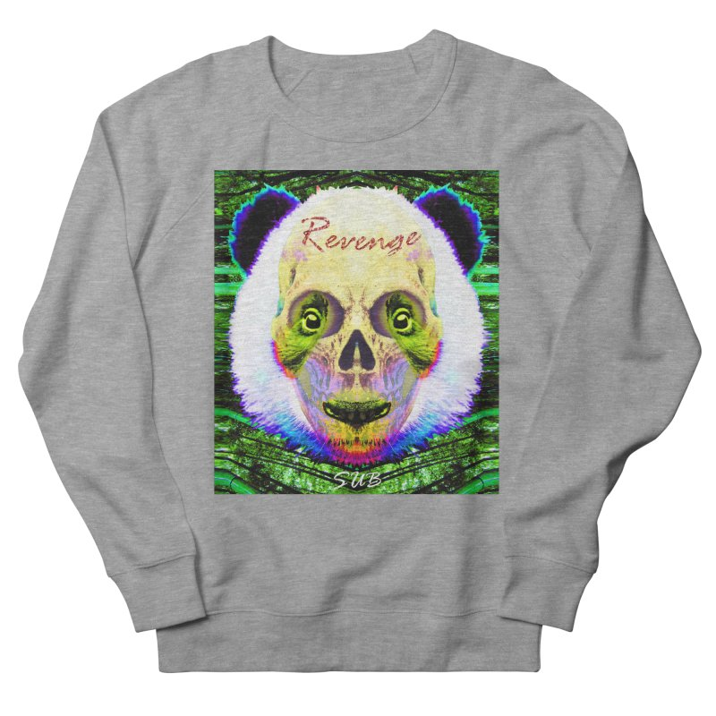 Panda Skull II Women's French Terry Sweatshirt by SUBTERRA's Shop