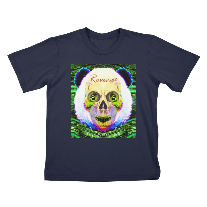 Panda Skull II Kids T-Shirt by SUBTERRA's Shop